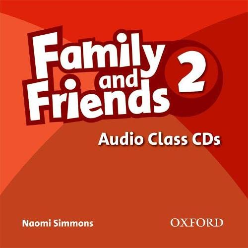 9780194812177: Family and Friends: 2: Class Audio CDs