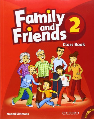 9780194812184: Family and Friends: 2: Class Book and MultiROM Pack