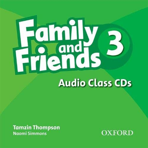 9780194812290: Family and Friends: 3: Class Audio CDs