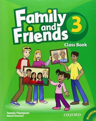 9780194812313: Family and Friends: 3: Class Book and MultiROM Pack