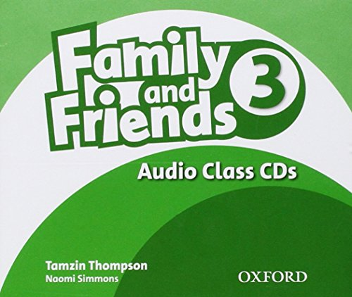 9780194812443: (CLASS CD).FAMILY AND FRIENDS 3 (CLASS CD)
