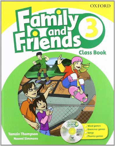 9780194812504: Family & Friends 3: Class Book and Multi-ROM Pack (Family & Friends First Edition)