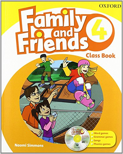 9780194812511: Family & Friends 4. Class Book And Multi-Rom Pack (Family & Friends First Edition) - 9780194812511