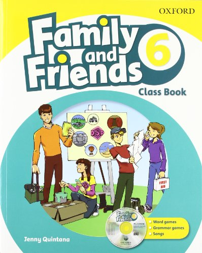 9780194812535: Family & Friends 6. Class Book And Multi-Rom Pack (Family & Friends First Edition)