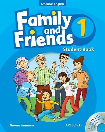 9780194813334: Family and Friends American Edition: 1: Student Book & Student CD Pack
