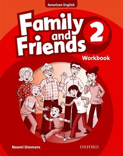 9780194813396: Family and Friends American Edition: 2: Workbook2