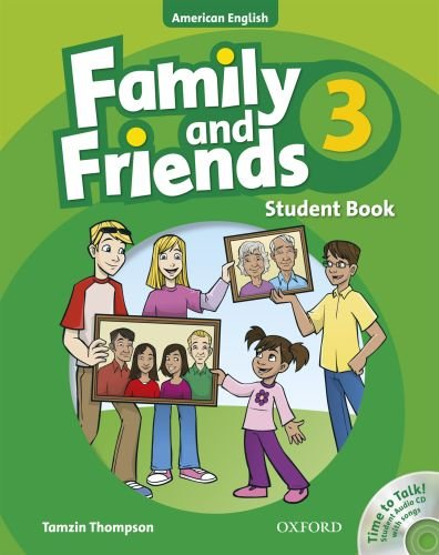 9780194813594: Family and Friends American Edition: 3: Student Book & Student CD Pack