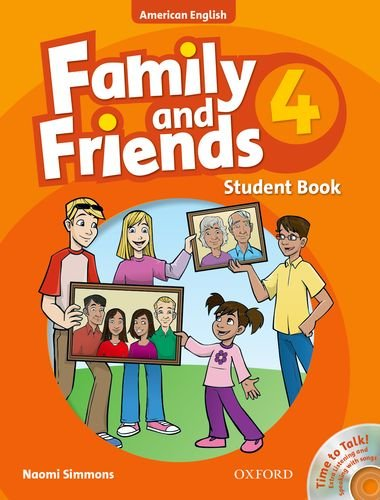 9780194813723: Family and Friends American Edition: 4: Student Book & Student CD Pack