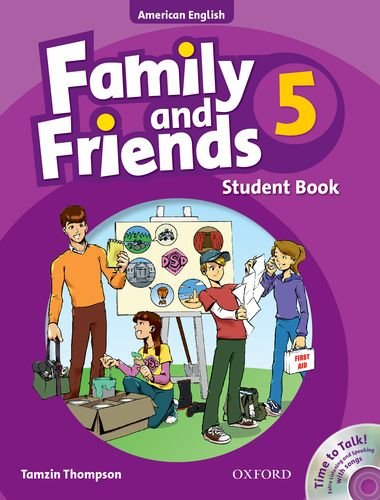 9780194813853: Family and Friends American Edition: 5: Student Book & Student CD Pack
