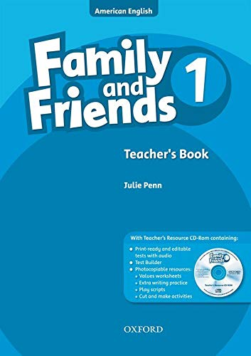9780194813990: Family and Friends American Edition: 1: Teacher's Book & CD-ROM Pack
