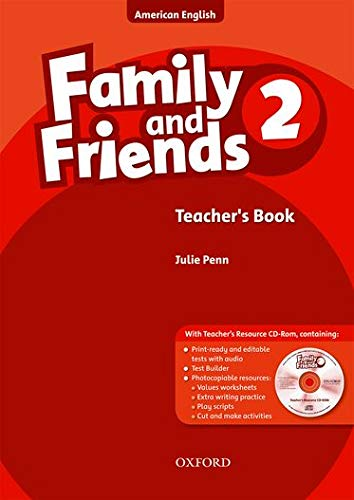 9780194814003: Family and Friends American Edition: 2: Teacher's Book & CD-ROM Pack