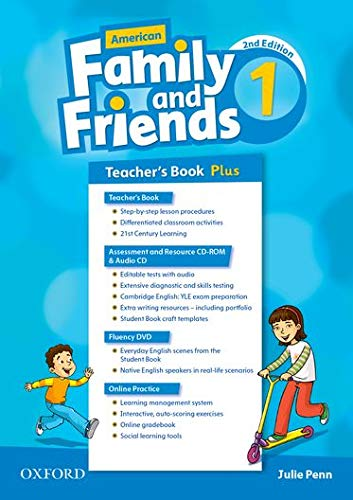 9780194815901: American Family and Friends: Level One: Teacher's Book Plus: Supporting all teachers, developing every child