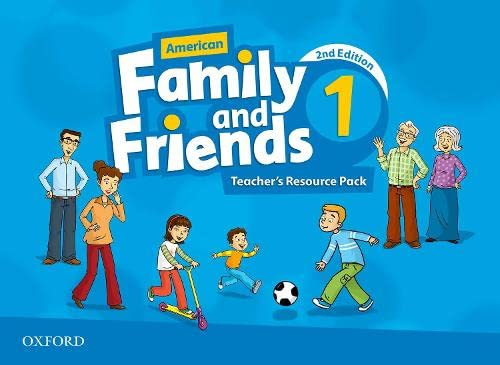 9780194816007: American Family and Friends: Level One: Teacher's Resource Pack: American Family and Friends: Level One: Teacher's Resource Pack Level 1