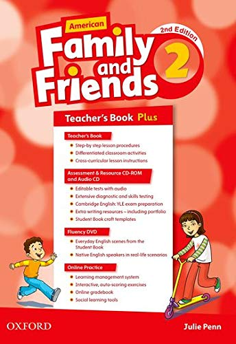 9780194816120: American Family and Friends: Level Two: Teacher's Book Plus: Supporting all teachers, developing every child