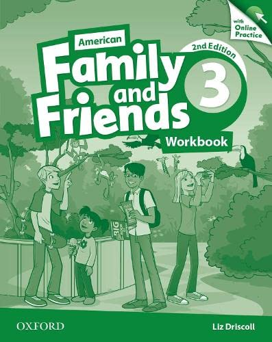 9780194816281: American Family and Friends: Level Three: Workbook with Online Practice: Supporting all teachers, developing every child