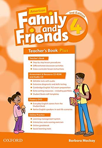 9780194816519: American Family and Friends: Level Four: Teacher's Book Plus: Supporting all teachers, developing every child