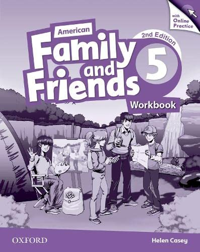 9780194816663: American Family and Friends: Level Five: Workbook with Online Practice: Supporting all teachers, developing every child