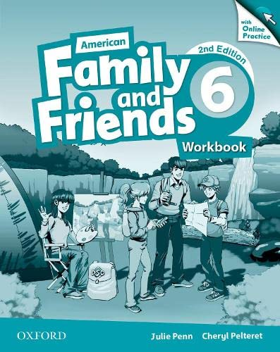 9780194816830: American Family and Friends: Level Six: Workbook with Online Practice: Supporting all teachers, developing every child