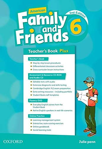 9780194816878: American Family and Friends: Level Six: Teacher's Book Plus: Supporting all teachers, developing every child