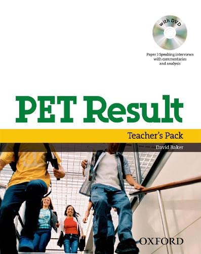 9780194817127: PET Result:: Teacher's Pack (Teacher's Book with Assessment Booklet, DVD and Dictionaries Booklet)