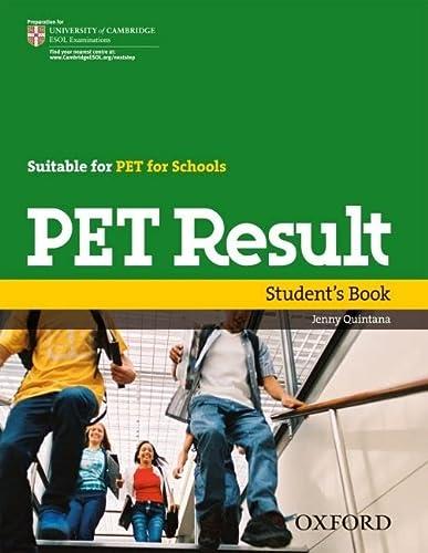9780194817158: PET Result:: Preliminary English Test Result: Student's Book (Preliminary English Test (Pet) Result)
