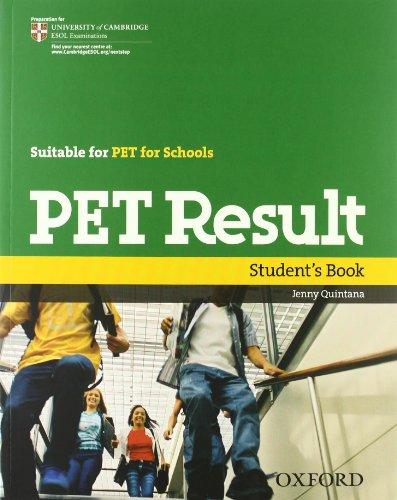 9780194817165: Pet result. Student's book-Workbook with key. Per le Scuole superiori. Con CD-ROM. Con Multi-ROM. Con espansione online