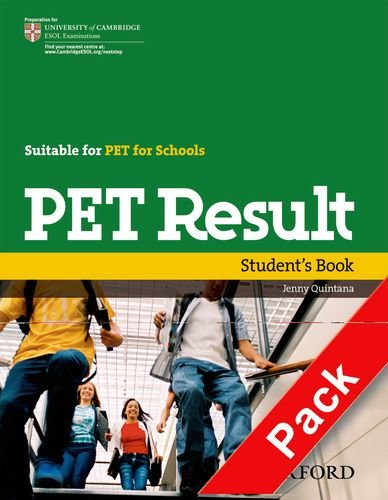 9780194817189: Pet result. Student's Book-Workbook without key. Per le Scuole superiori. Con Multi-ROM. Con espansione online