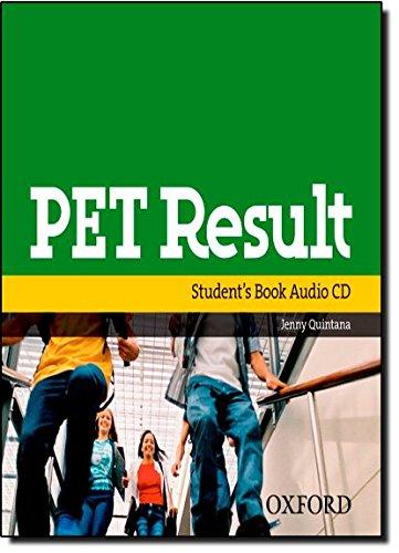 9780194817233: Pet Result:: Class Audio CD: Class Audio CD