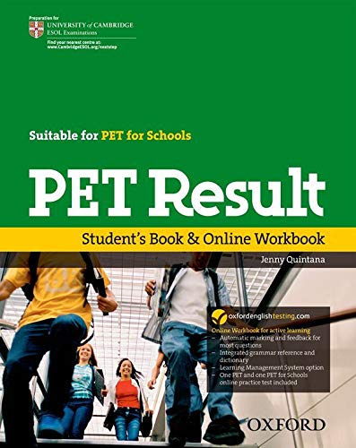 9780194817295: PET Result:: Student's Book & Online Workbook