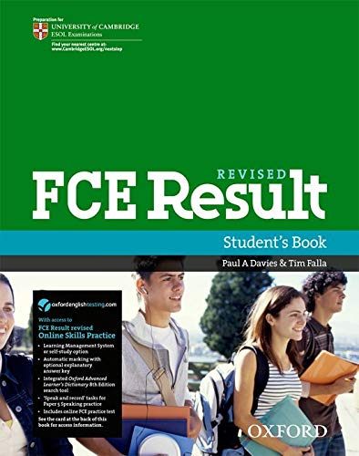 Revised FCE Result: Students Book with Online: Davies, Paul A