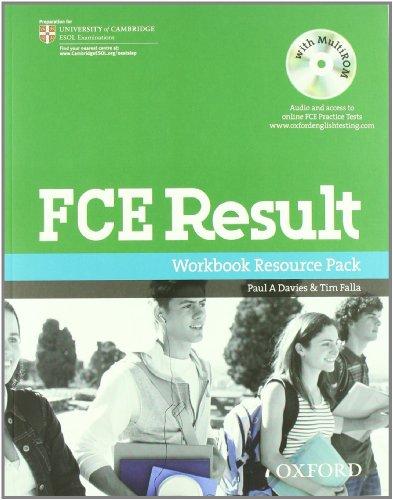 9780194817424: FCE result 2011. Student's book-Workbook. Con espansione online. Per le Scuole superiori. Con Multi-ROM
