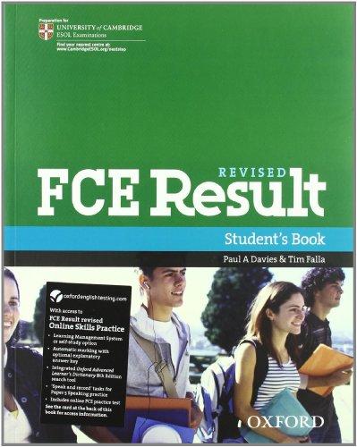 9780194817431: FCE result 2011. Student's book-Workbook-With Key. Con espansione online. Per le Scuole superiori. Con Multi-ROM