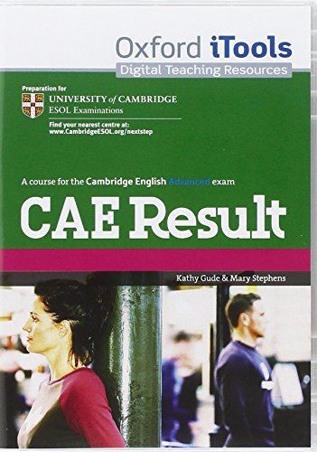 9780194817479: CAE Result: Certificate in Advanced English Result: iTools (Cambridge Advanced English (Cae) Result)