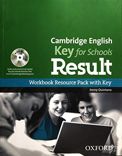 9780194817592: Cambridge English: Key for Schools Result: KET Result for Schools Workbook with Key Pack