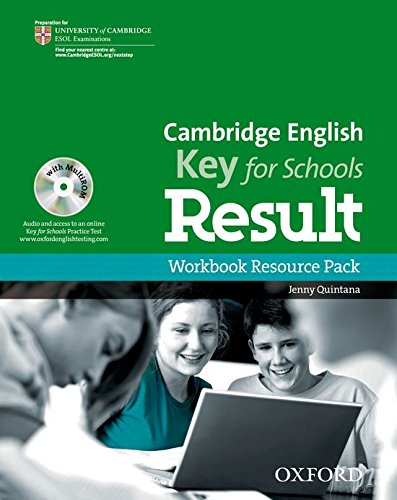 9780194817608: Cambridge English: Key for Schools Result: Workbook Resource Pack without Key