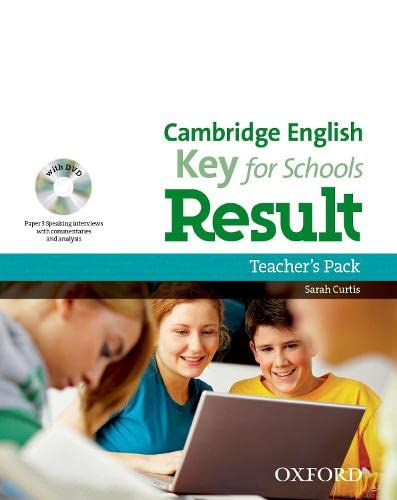 9780194817622: Cambridge English: Key for Schools Result: Key English Test Result for Schools: Teacher's Book Pack (Ket Result For Schools)