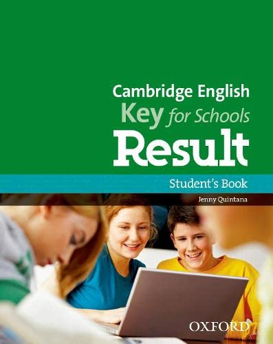 9780194817653: Cambridge English: Key for Schools Result: Student's Book