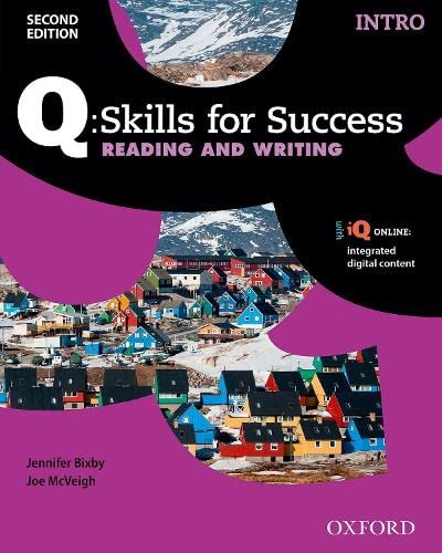 9780194818056: Q Skills for Success: Intro Level: Reading & Writing Student Book with iQ Online