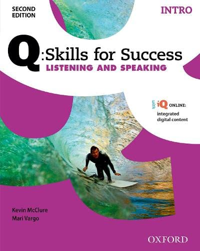 9780194818070: Q:Skills for Success Listening and Speaking 2E Intro Student Book