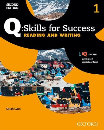 9780194818384: Q: Skills for Success 2E Reading and Writing Level 1