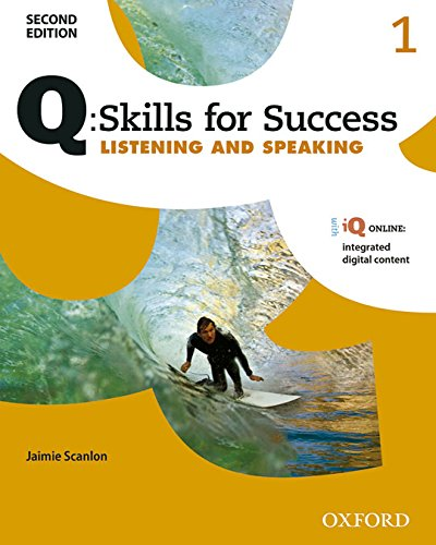 9780194818407: Q Skills for Success (2nd Edition). Listening & Speaking 1. Student's Book Pack