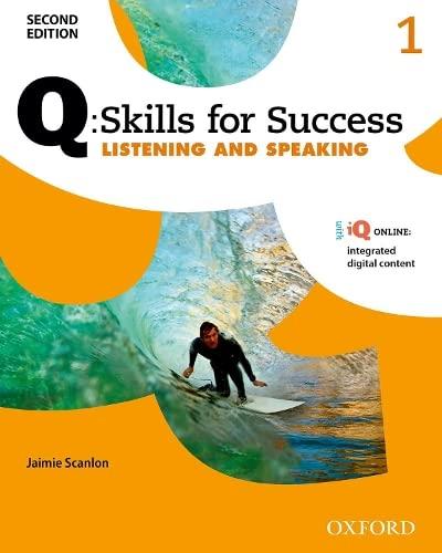 Q: Skills for Success 2E Listening and: Scanlon, Jaimie