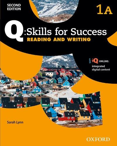 9780194818421: Q Skills for Success: Level 1: Reading & Writing Split Student Book A with iQ Online