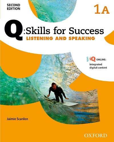 9780194818469: Q Skills for Success (2nd Edition). Listening & Speaking 1. Split Student's Book Pack Part A