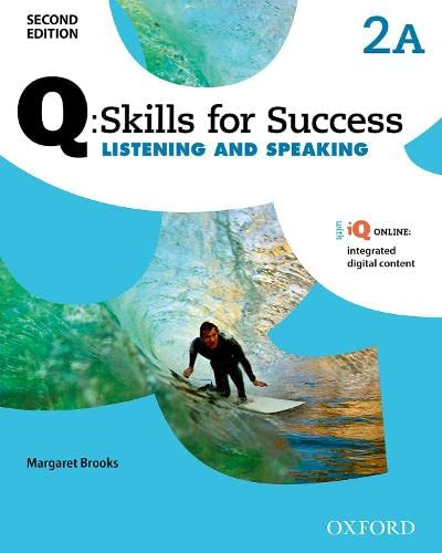 9780194818780: Q: Skills For Success Listening and Speaking: Level 2 Student Book A