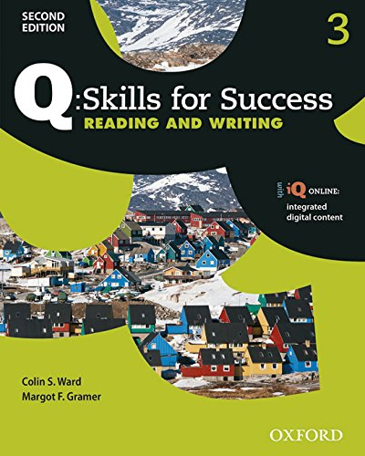 9780194819022: Q Skills for Success (2nd Edition). Reading & Writing 3. Student's Book Pack
