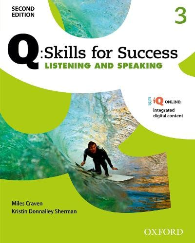 9780194819046: Q Skills for Success (2nd Edition). Listening & Speaking 3. Student's Book Pack