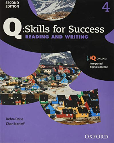9780194819268: Q: Skills for Success Reading and Writing 2E Level 4 Student Book
