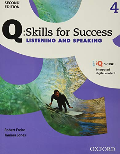 9780194819282: Q Skills for Success: Level 4: Listening & Speaking Student Book with iQ Online