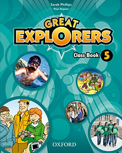 9780194820493: Great Explorers 5. Class Book - Revised Edition - 9780194820493